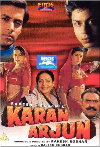 Poster Imagine Karan Arjun 1995