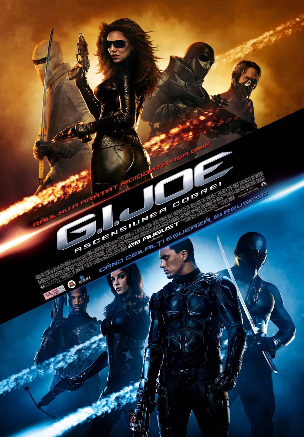 G.I. Joe: The Rise of Cobra (2009) G.I. Joe: Ascensiunea Cobrei