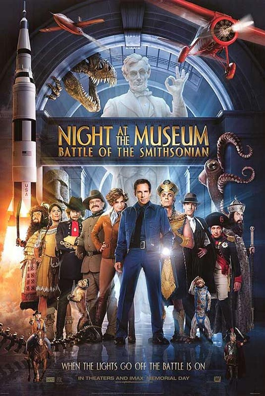 Night at the Museum: Battle of the Smithsonian - O noapte la muzeu 2 (2009)