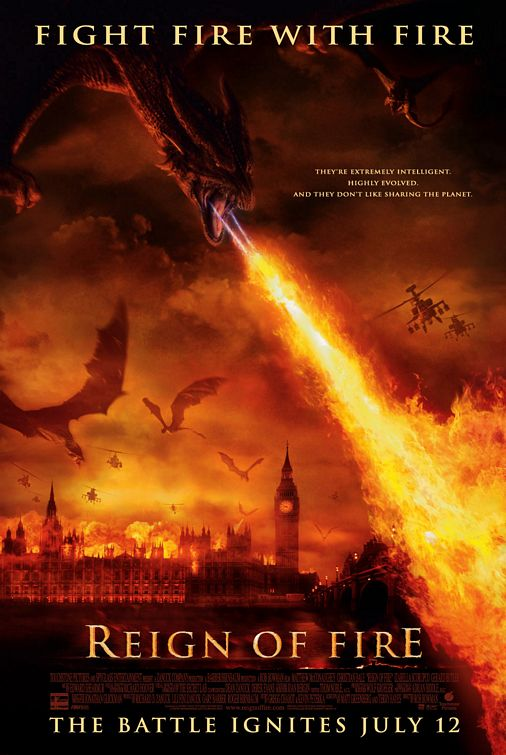 Poster Imagine Reign of Fire (2002) Regatul de Foc