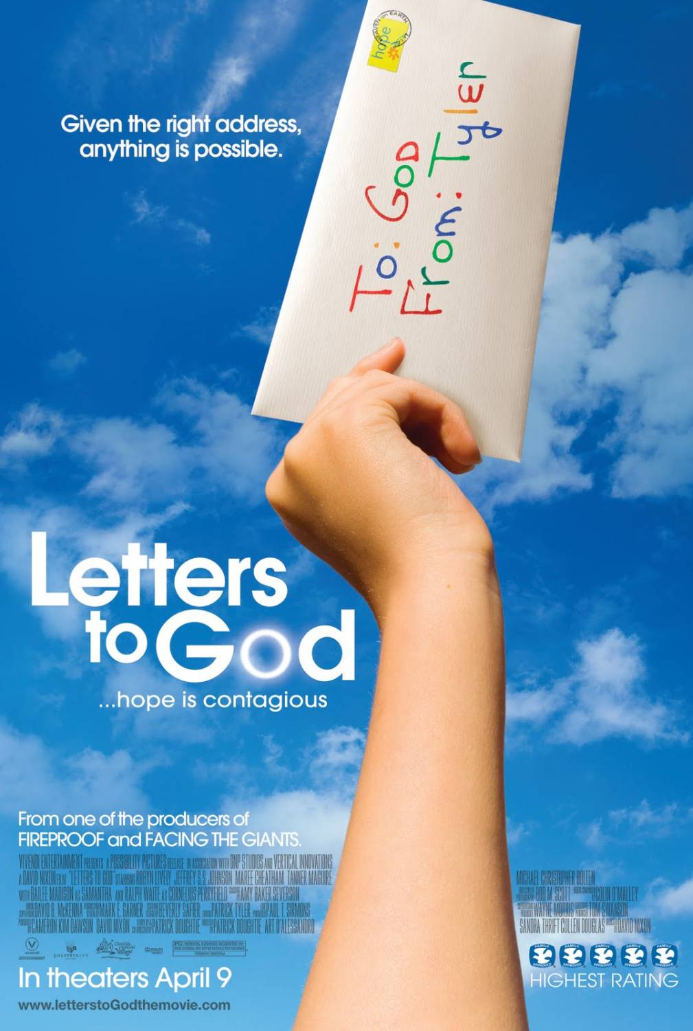 Letters To God (2010) - Film Online Subtitrat