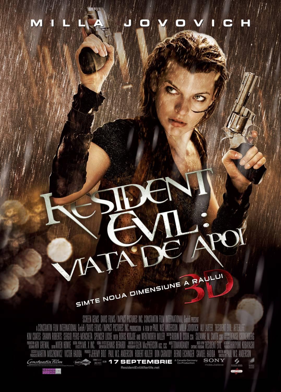 Resident Evil: Afterlife (2010) Resident Evil : Viaţa de apoi - Film Online Subtitrat