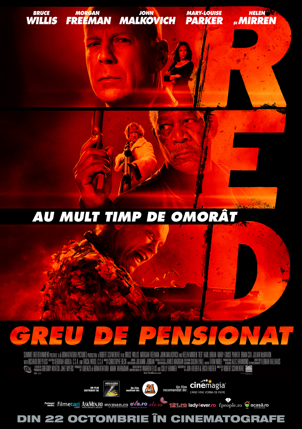 Red (2010) Greu de pensionat