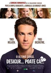 Poster Imagine Definitely, Maybe - Desigur... poate ca...(2008)