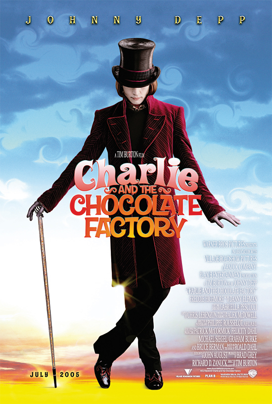 Poster Imagine Charlie and the Chocolate Factory (2005)