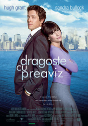 Poster Imagine Two Weeks Notice - Dragoste cu preaviz (2002)