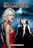 Poster Imagine Battlestar Galactica Sezonul 1 episodul 9 Tigh Me Up, Tigh Me Down