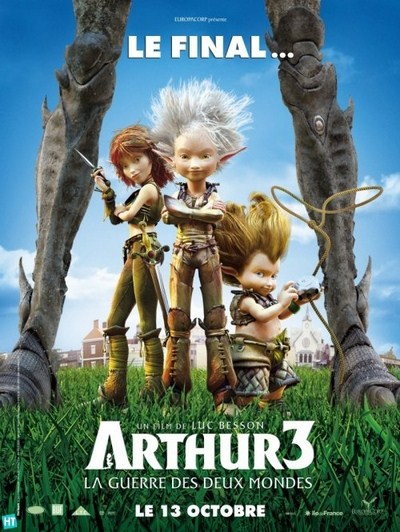 Arthur 3 The War of the Two Worlds
