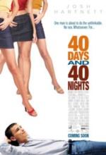 Vizionare online filmul 40 Days and 40 Nights (2002), cu subtitrare în Română şi calitate HD