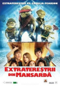 Poster Imagine Aliens in the Attic - Extraterestrii din mansarda (2009)