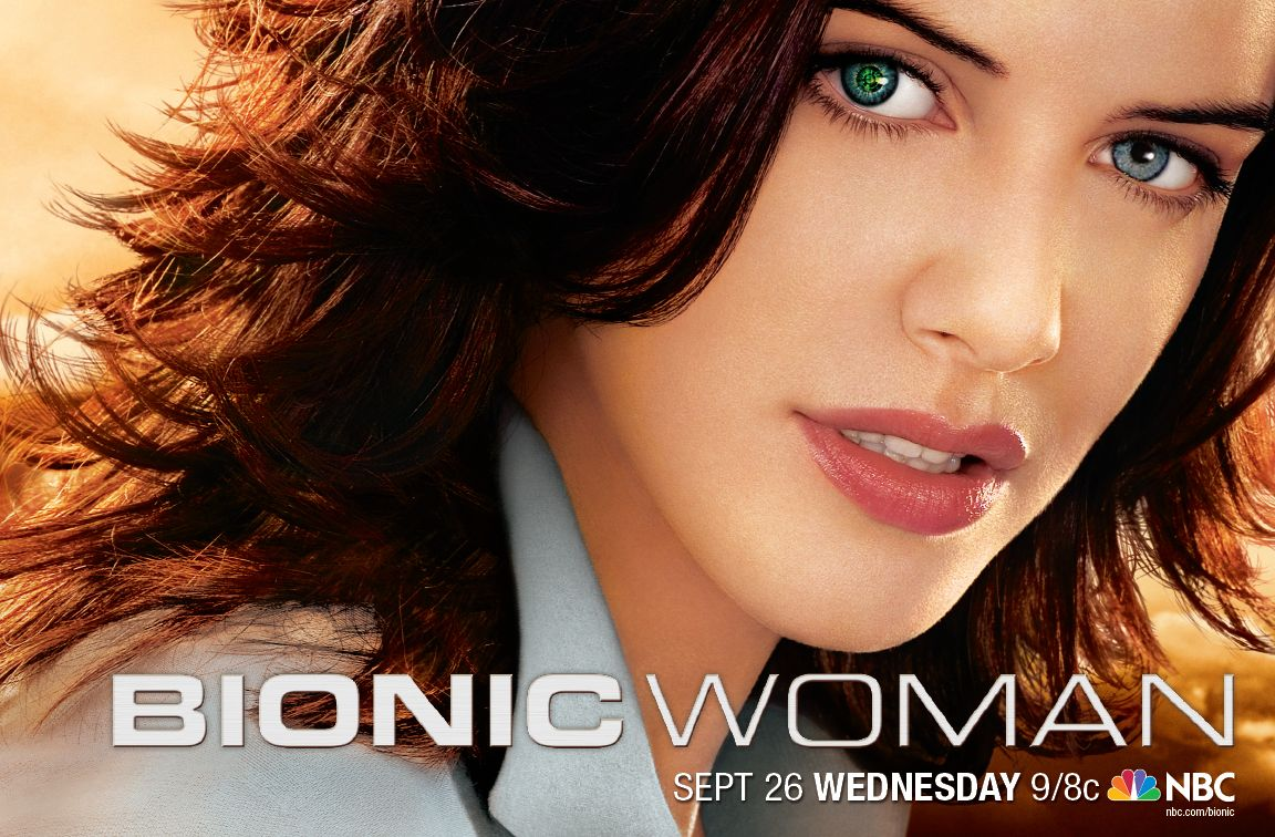 Poster Imagine Bionic Woman Episodul 01