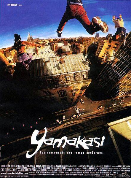 Yamakasi - współcześni samurajowie / Yamakasi - Les Samurai des Temps Modernes (2001) PL.DVDRip.XviD-NN / Lektor PL