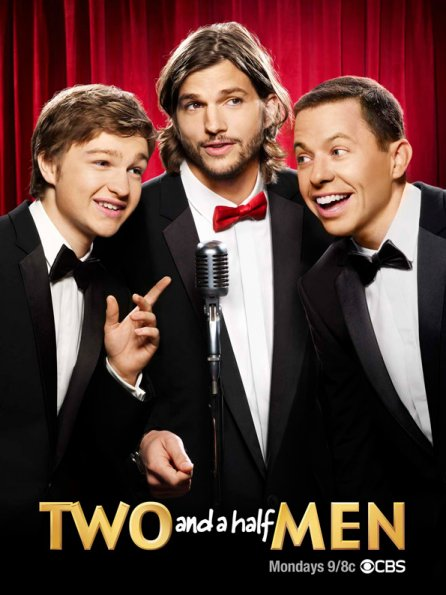 Poster Imagine Two and a Half Men - Sezonul 9 Episodul 3 Big Girls Dont Throw Food