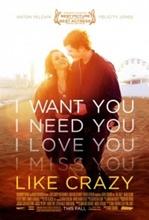 Imagine film online Like Crazy (2011)
