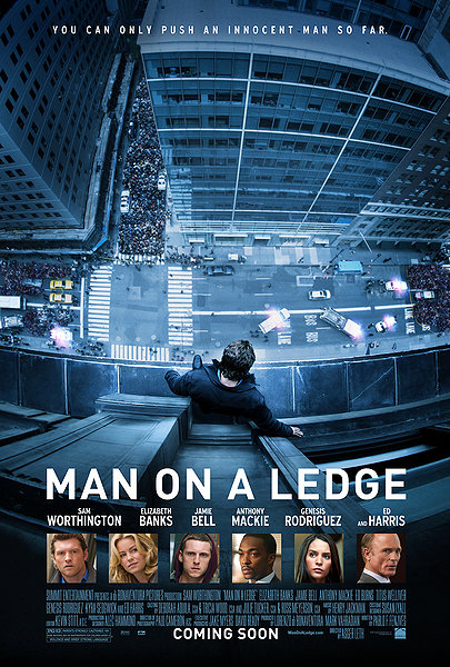 Poster Imagine Man on a Ledge (2012)