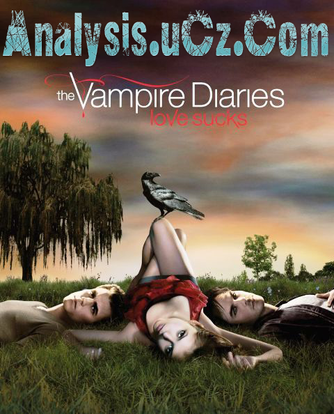 Poster Imagine The Vampire Diaries Sezonul 1 Ep1-Pilot