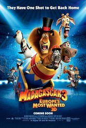 Madagascar 3: Europe&#39;s Most Wanted (2012) online