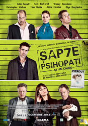 Poster Imagine Seven Psychopaths 2012
