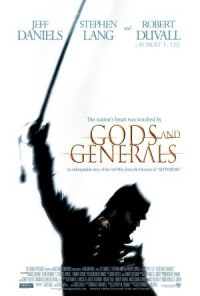 Poster Imagine Gods and Generals (2003) Zei şi Generali