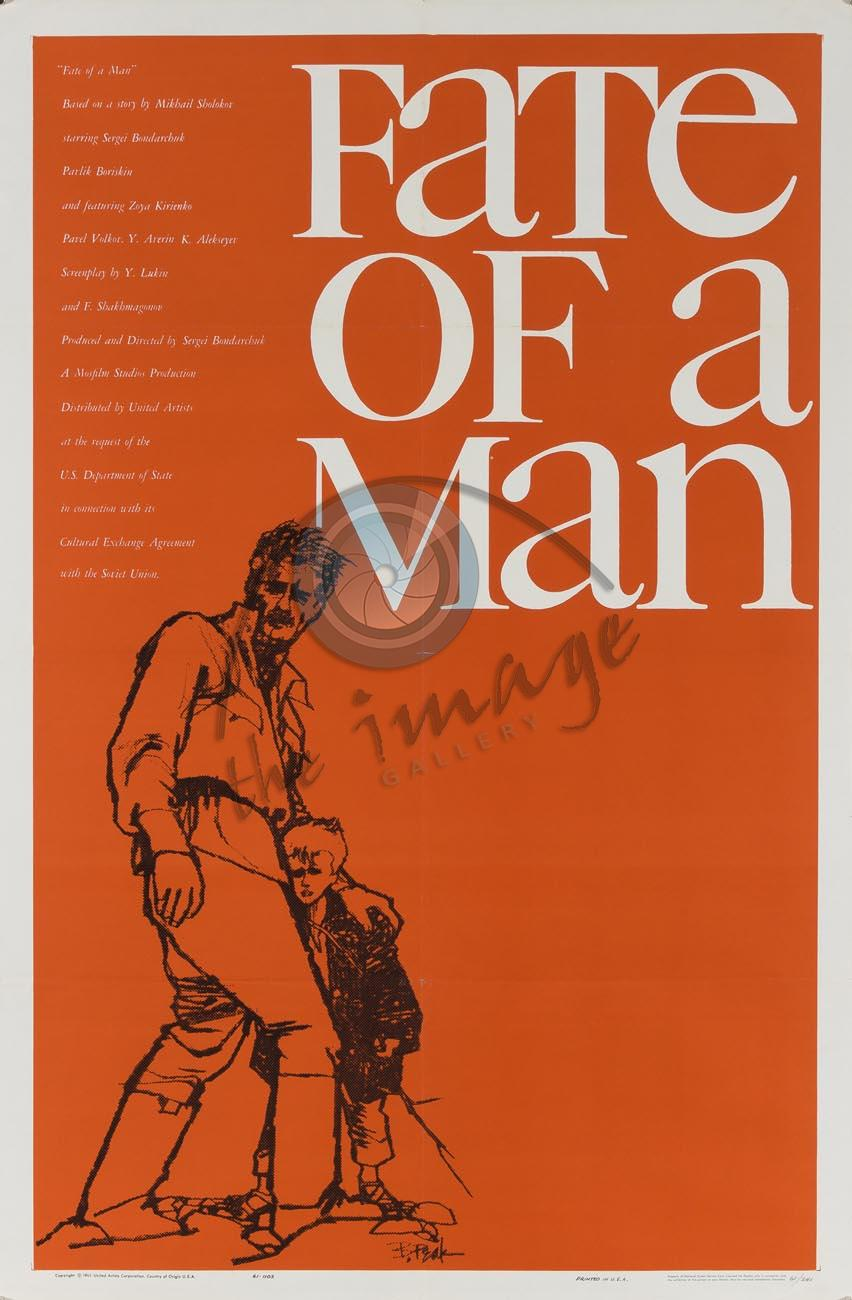 Poster Imagine Fate Of A Man (1959)