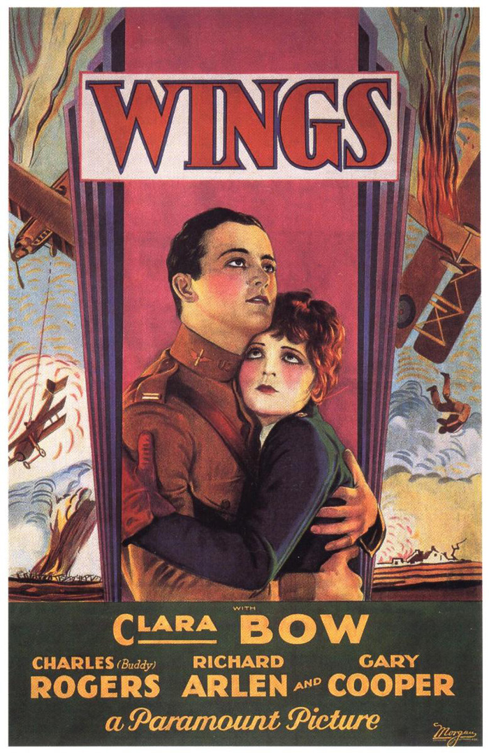 Poster Imagine Wings (1927)