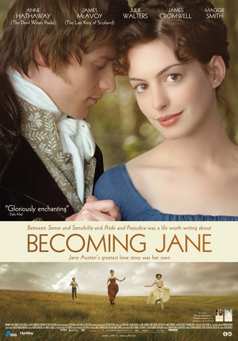 Poster Imagine Becoming Jane (2007)