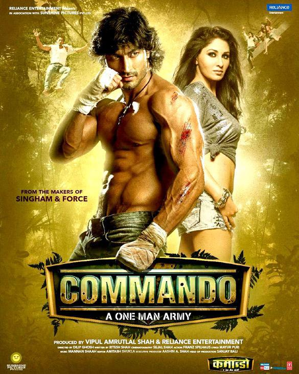 Poster Imagine Commando (2013)