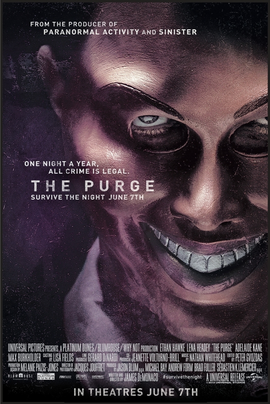 Poster Imagine The Purge (2013)
